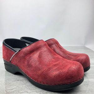Dansko Red Clogs